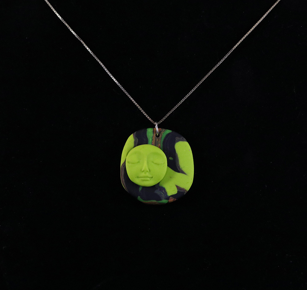 Face Pendant Green face pendant necklace art for your home and body home jewelry green face pendant necklace audiocablefo
